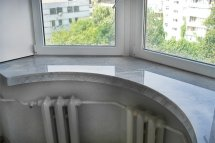 Marble window sills